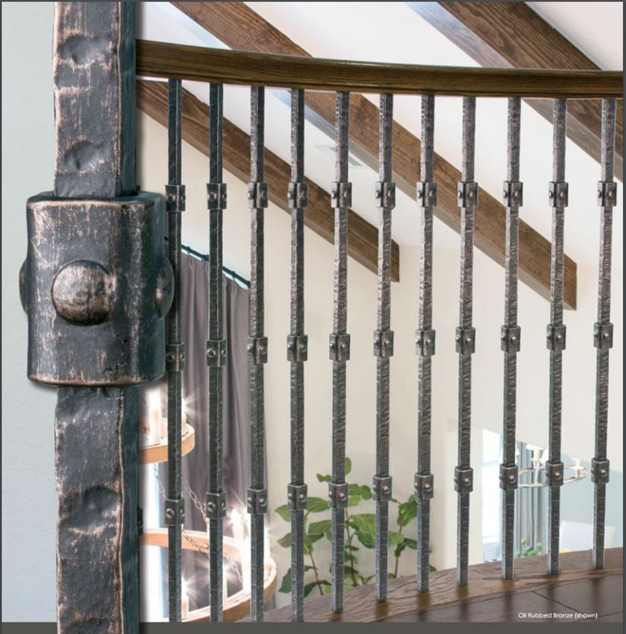Wentworth Collection with the Square Triple Knuckle Balusters