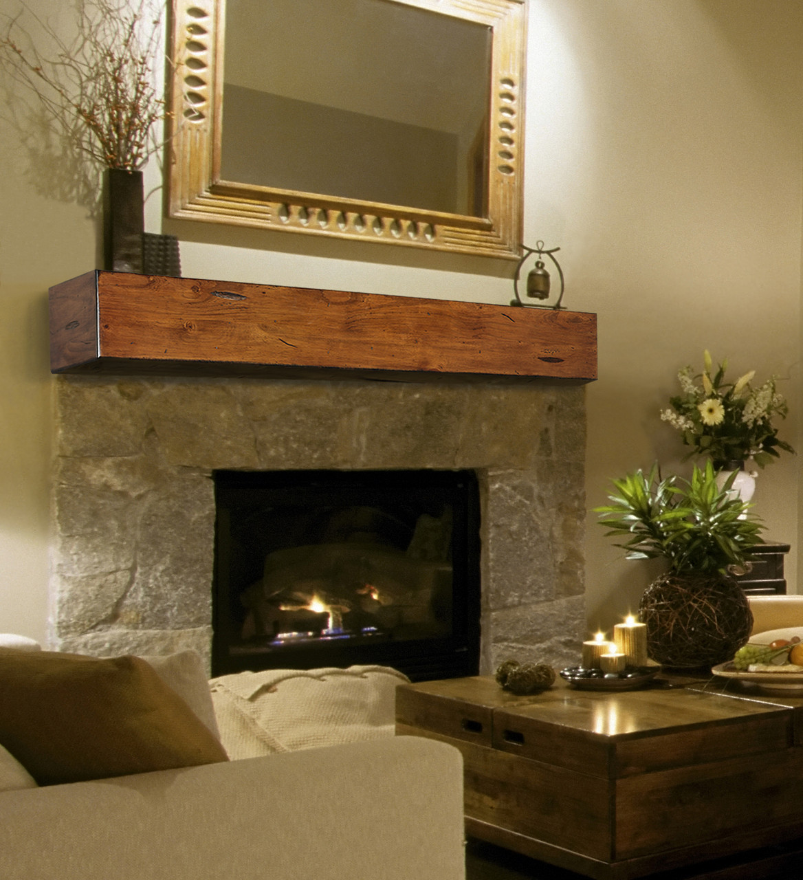 The Lexington Fireplace Mantel Shelf
