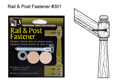 3301 Rail and Post Fastener Kit