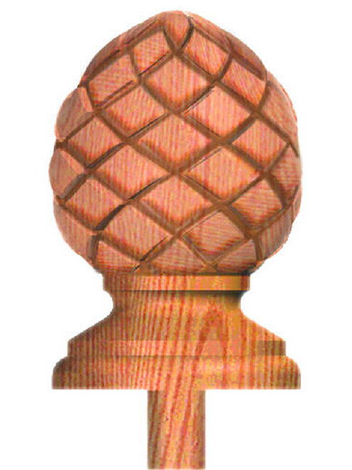 RCP-413 Raised Carved Pineapple