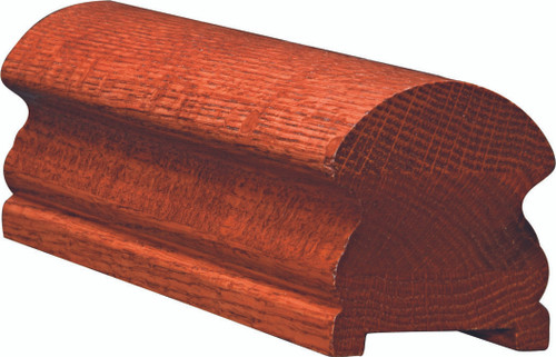 6519P Soft Maple or Ash Plowed Handrail