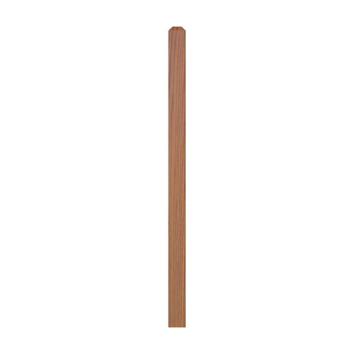 """4000 48"""" S4S Newel with Chamfered Top"""