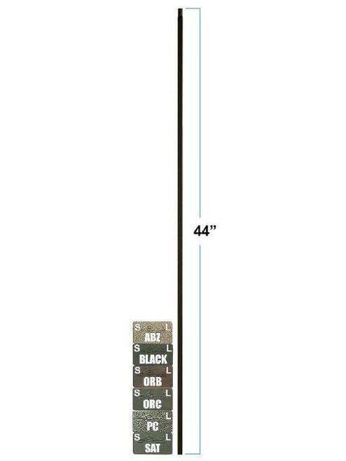 PLA44-LT Plain Square Bar Tubular Steel Baluster