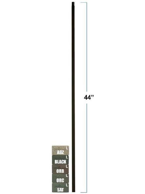 MEGA-PLA Mega Plain Square Bar Tubular Steel Baluster