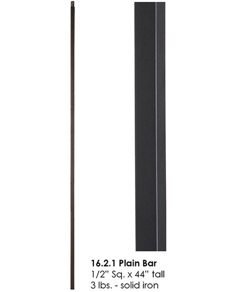 HF16.2.1 Straight Bar Iron Baluster
