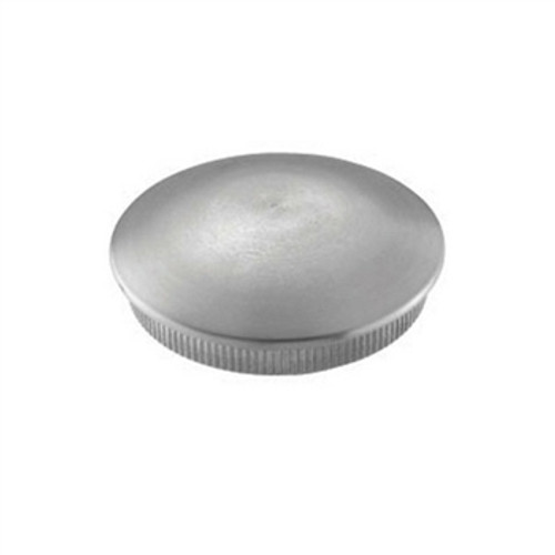 E0119 Stainless Steel End Cap Rounded