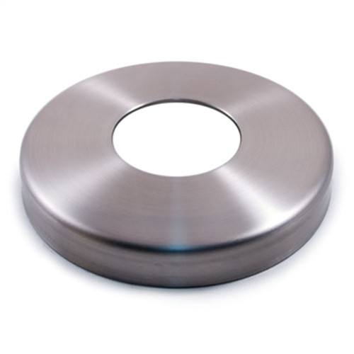 """E0191 Stainless Steel Flange Canopy, 1 23/64"""" Diameter Hole"""