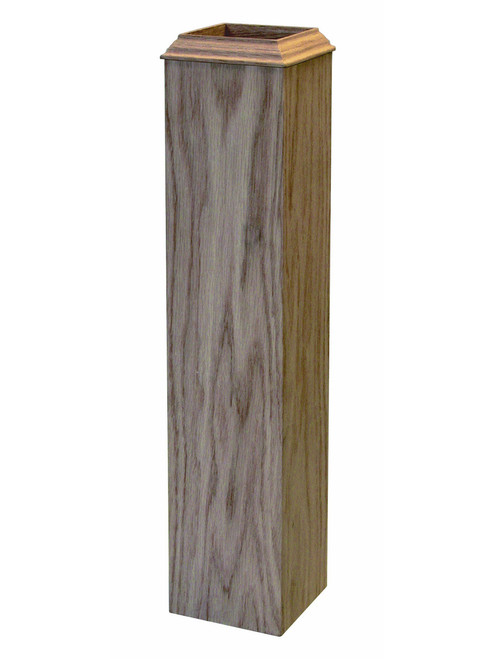 4076B Red Oak Newel Sleeve