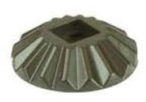 M-020 Round Scalloped Shoe