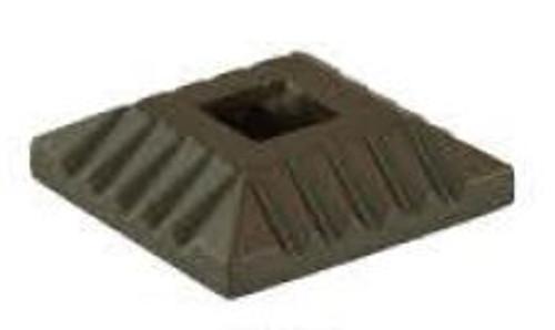 M-022 Square Scalloped Shoe