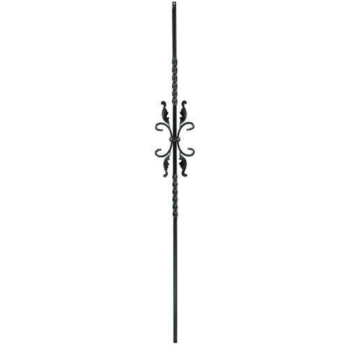 T-55 Two Twists with Leaves Baluster