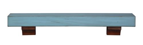 "The Shenandoah Shelf, 60"" Riviera Distressed"