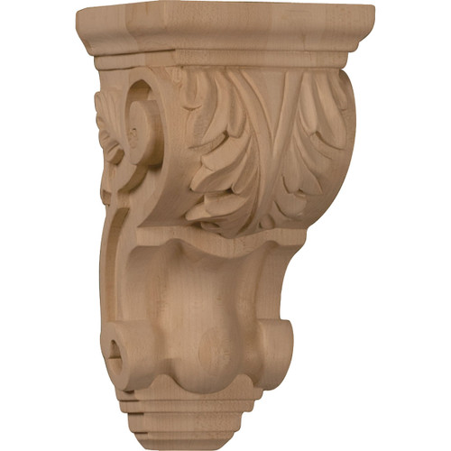 """Traditional Acanthus Corbel, 3 1/2"""" X 4"""" X 7"""""""