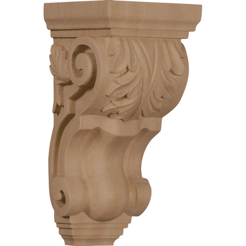 """Traditional Acanthus Corbel, 4 1/2"""" X 5"""" X 10"""""""