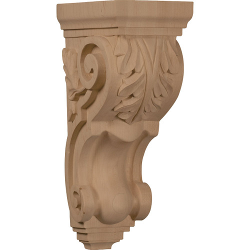 """Traditional Acanthus Corbel, 5"""" X 7"""" X 14"""""""