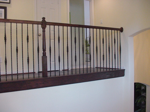 Double Knob Tuscan Baluster Installation