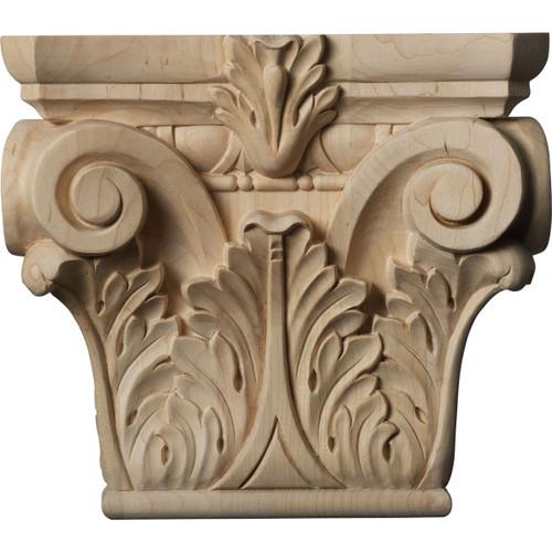Floral Pilaster Capital, Medium