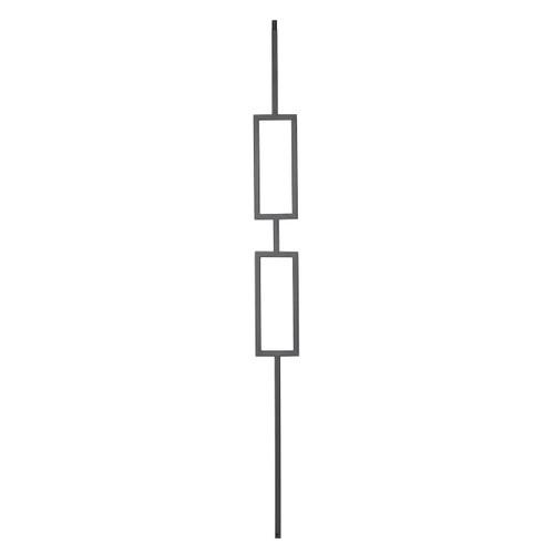 9091CS Double Rectangle Contemporary Baluster