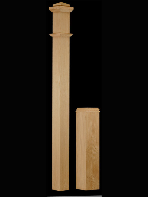 C-4291-Adjustable Box Newel Post