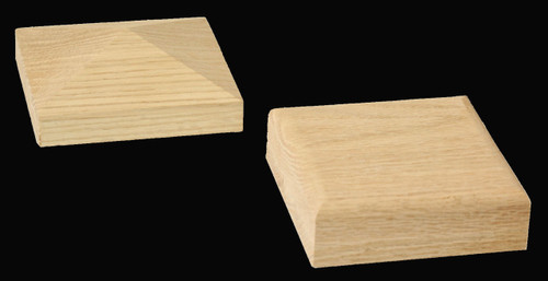 Interchangeable caps for the C-4291-Adj Box Newel Post