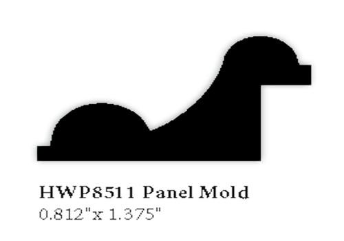 8511 Hardwood Panel Mold