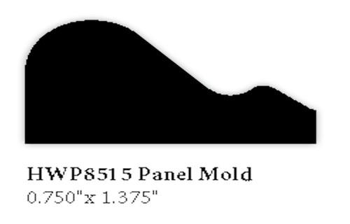 8515 Hardwood Panel Mold