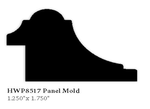 8517 Hardwood Panel Mold