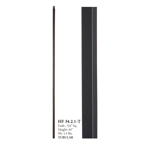 HF34.2.1-T MEGA Plain Square Bar Baluster