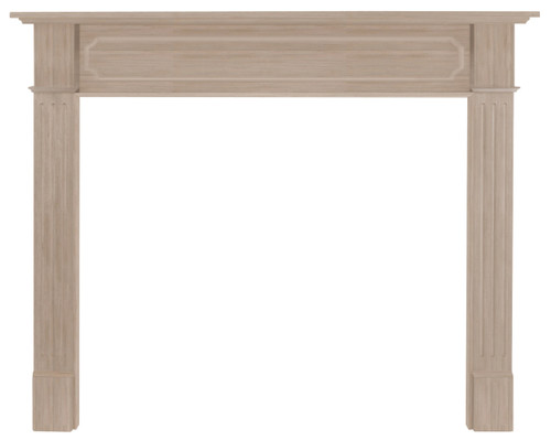 "The Alamo Mantel Surround, 50"" (111-50), Unfinished"