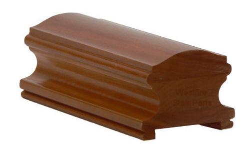 6400P Plowed Red Oak Handrail