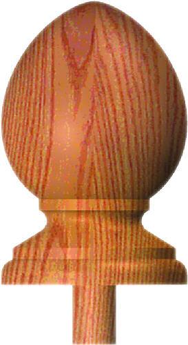 PP-412 Plain Pineapple Finial