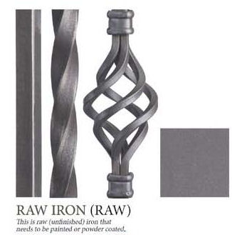 Raw Wrought Iron