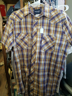 Wranglers Men's XL Button Up
