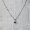 unique sapphire necklace