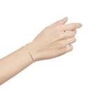handcrafted gold bangle bracelet