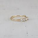 four stone diamond engagement ring
