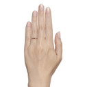 grey diamond wedding ring