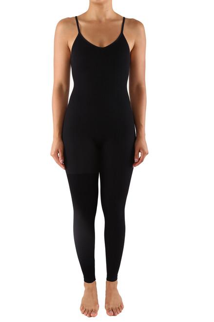 BSD21 Body Suit Full V-Neck