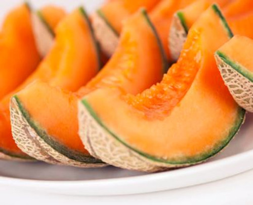 This sweet aroma of melon conjures up the image of a fruit market.