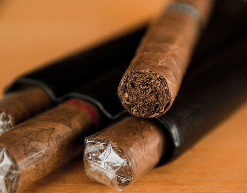 The smell of celebration and lighting up that expensive cigar you've been saving for a special occasion.