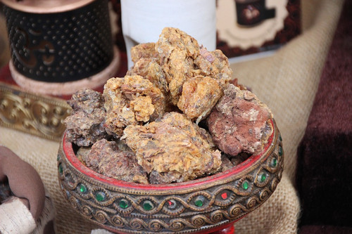 Although this may remind some of anaesthetic as myrrh is an ingredient, it is more well known as a church incense.
