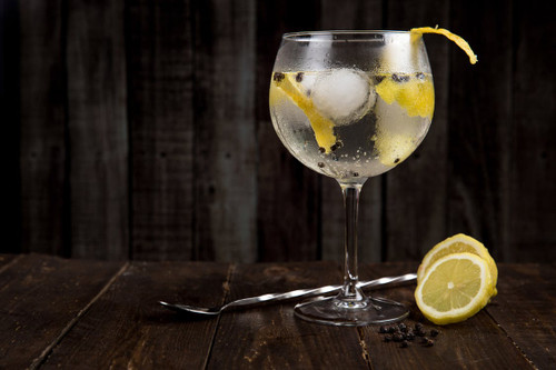 The aroma,of a beverage not overly strong, served on ice with sparkling water and lemon, relax and refresh with this one.