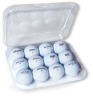 Golf Ball Clamshells