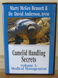 Camelid Handling Secrets: Medical Management DVD