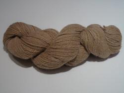 2 ply - Organic Fawn Alpaca Yarn