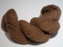 2 ply - Camelot Organic Brown 100% Alpaca Yarn
