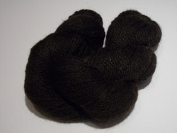 2 ply - Camelot Organic Black Alpaca Yarn