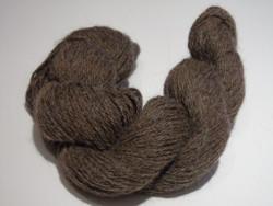2 ply - Camelot Organic Chocolate 100% Alpaca Yarn