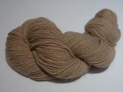 2 ply - Camelot Organic Fawn - 80/20 Llama Yarn