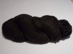 3 ply Camelot Organic Dark Brown Alpaca Yarn